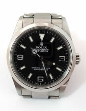 ROLEX EXPLORER I Stainless Oyster Black Dial Watch 36MM- Excellent Condition BOX