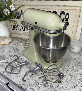 VTG KitchenAid K45 Stand Mixer 10-Speed 250W Bowl Wire Whip Dough Hook PADDLE