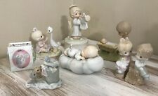 Lot of 7 vintage Precious Moments Figurines 1978-1997 No Boxes