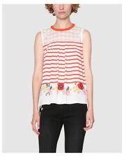 Hauts et chemises rouges Desigual pour femme