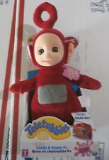 TALKING LAUGH & GIGGLE TELETUBBIES Po RED 13'' PLUSH DOLL toy new