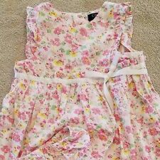 SWEET! BABY CHAPS 18 MONTH BRIGHT PINK FLORAL 2PC DRESS W/BLOOMERS