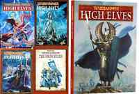 High Elves Army Books,  Warhammer Fantasy Battles, various select