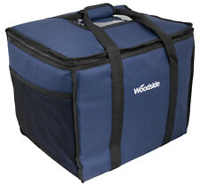 More details for woodside extra large 50l insulated cooler bag for hot/cold food & drink delivery