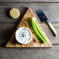 Triangle Olive Wood Chopping/Cheese Board