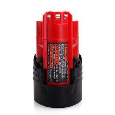 2.0AH 12V Li-ion Battery For Milwaukee M12 M12B2 C12B 48-11-2401 48-11-2411