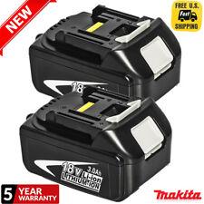 2XMakita 3.0AH 18V Li-ion Battery BL1830B For Makita Lxt Drill Saw Driver BL1845