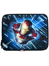 Iron Man Movie iPad 2 Neoprene Zip Sleeve 3rd 4th Gen Tablet Cover Marvel Comics