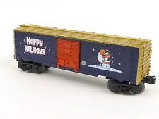 Lionel 6-36213 Vapor Records Christmas Happy Holidays Box Car O Gauge Trains