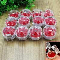12pcs Ring Jewellery Display Storage Gift Box Show Case Organiser Earring Holder