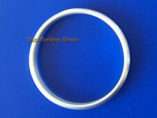 For BMW E60 E61 07-10 Brushed Aluminium Ring for Ignition Surround x1 size 37 mm