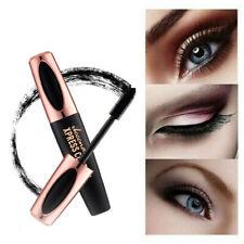 4D Silk Fiber Eyelash Mascara Extension Makeup Black Waterproof Eye Lasting
