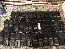 Lot of 38 Mixed Motorola MTS 2000 Flashport Keyed Two Way Radios Missing Panel