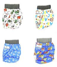 Hananee Baby Cloth Diapers SET with Bamboo Charcoal Insert All-In-One Nappy KIT
