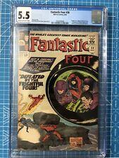 Marvel Comics Fantastic Four 38 CGC 5.5 Stan Lee Jack Kirby