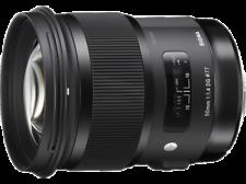 Objetivos Sigma f/1, 4 50mm para cámaras