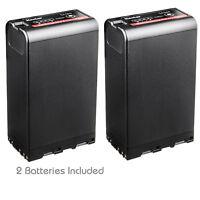 Kastar BP-U96 Battery (2-PACK) for Sony BP-U90 BP-U60 BP-U30 Fully Decoded