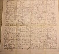 OLD IRELAND IRISH MAP Genealogy Plunkett Poer Preston Purcel Roche  SURNAMES