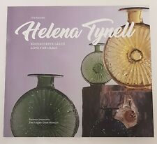 Helena Tynell Book Love For Glass 2018 Design Finland Iittala Arabia