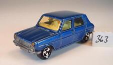 Majorette 1/60 Nr. 234 Simca 1100 blaumetallic Nr. 3 #363