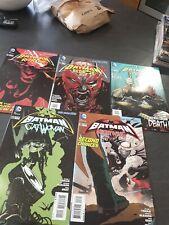 """DC Nuevo 52 """"Batman y Red Robin catwonan Nightwing Rojo Capucha y Batgirl"""" #19-23 casi como nuevo"""