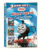 Thomas & Friends - Thomas IN Charge / Up & Away / Rescue On The Rails DVD Nuovo