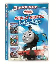Thomas & Friends - Thomas In Charge / Up Up & Away / Rescue On The Rails DVD NEW