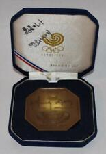 Signed 1988 Seoul South Korea Olympic Participation Medal in Presentation Case