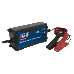 Sealey SBC4 Battery Charger & Maintainer 12V 4A Automatic