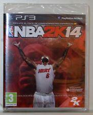 NBA 2K14 - PLAYSTATION 3 - CD FISICO - PAL ESPAÑA - NUEVO PRECINTADO