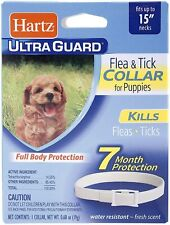 Ultraguard Flea-Tick Collar for Dog White 15 Inch Neck Flea and Tick Protection