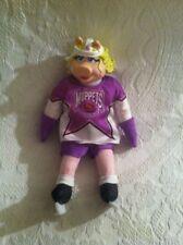 "11"" 1995 Muppets Nhl Conference Miss Piggy Canada McDonalds Promo Plush Doll"