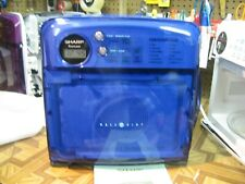 Blue Sharp Half Pint Microwave Professionally Reconditioned Great Christmas Idea