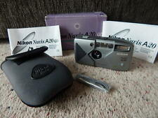 Nikon Nuvis A20 Compact Film Camera & Pouch Boxed old NEW stock