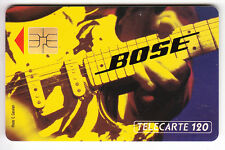 FRANCE  TELECARTE / PHONECARD .. 120U  F300 SO3 BOSE MUSIQUE A 2A6823  C.22€