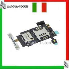 Lettore SCHEDA SIM Micro SD Memory Card LG P700 OPTIMUS L7 Ricambio FLEX FLAT