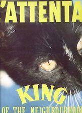 L'ATTENTAT king of the nieghbourhood HOLLAND 1986 EX LP