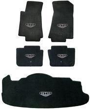 LLOYD MATS Velourtex™ 5pc Complete FLOOR MAT SET with logos 2005-06 PONTIAC GTO