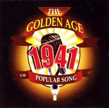 CD GOLDEN AGE OF POPULAR SONG 1941 DURBIN INK SPOTS MILLER SHAW DORSEY EBERLE