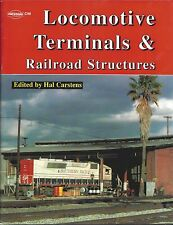 LOCOMOTIVE TERMINALS & RAILROAD STRUCTURES (Out of Print, NEW BOOK few in stock)