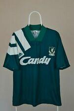 Rare LIVERPOOL 1991 1992 CANDY Vintage Adidas AWAY Shirt Jersey 1990s Size 42/44