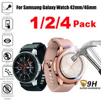 Tempered Glass Screen Protector For Samsung Galaxy Watch 42mm 46mm SM-R800/810