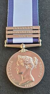 Naval General Service Medal with 3 Clasps