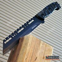 "11"" HUNTING CAMPING FULL TANG FIXED BLADE RAZOR SHARP SURVIVAL KNIFE"