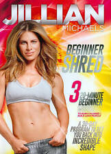 Jillian Michaels: Beginner Shred Workout Fitness Exercise DVD BRAND NEW SEALED