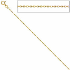 Anchor Chain 585 YELLOW GOLD 1,2 mm 42 cm Necklace Anchor Chain Gold Chain