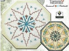 Celestial Snowfall paper piecing quilt pattern by Judy Niemeyer