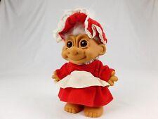 "Troll Doll Christmas Russ 8"" Mrs. Claus"