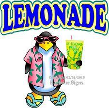 Lemonade DECAL (Choose Your Size) Food Truck Concession Vinyl Sticker