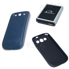 New 7570mAh Extended Battery for Samsung Galaxy S III S3 I9300 T999 W Cover Case